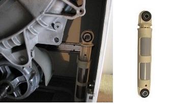 как проверить амортизаторы в стиральной машине