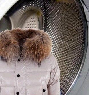 Как постирать пуховик в стиральной